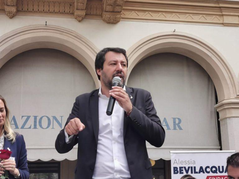 """Pollena. Europee,Pinto e Busiello:""""Sosterremo il progetto politico di Salvini"""""""