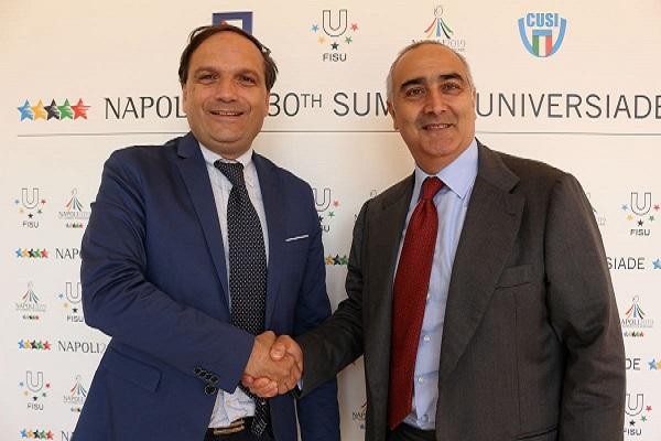 Servizi medici all' Universiade: accordo con l'Asl Napoli 1