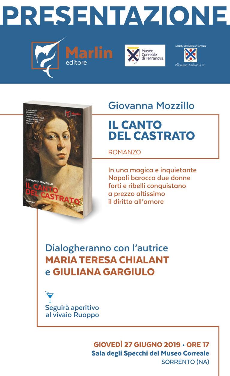 Il canto del castrato, domani la presentazione al Museo Correale