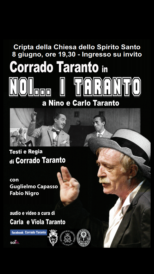 """La Proloco Oplontina inaugura la stagione teatrale con """"Noi…i Taranto"""""""