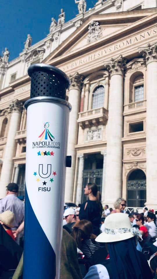 Torcia dell' Universiade a Salerno, il programma