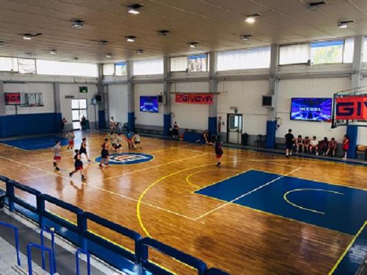 Basket. Centro Ester, Open Day per i piccolissimi