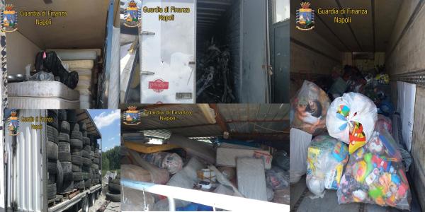 Volla. Discarica abusiva e attività illecite: maxi sequestro di rifiuti speciali