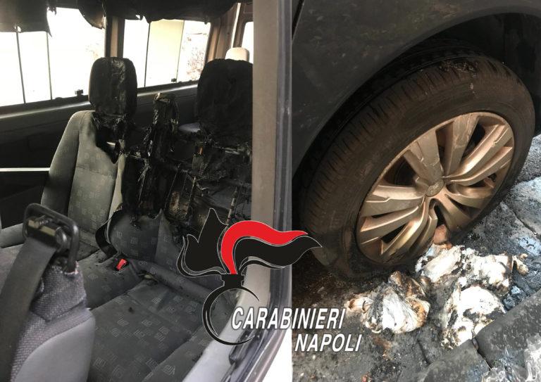 Ercolano. Incendia rifiuti e danneggia auto poi sferra pugno al carabiniere