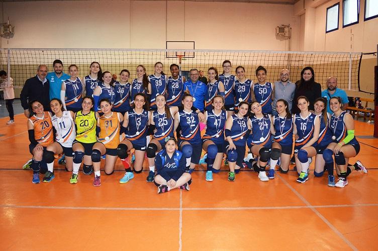 Arzano Volley protagonista delle premiazioni della  Fipav Napoli