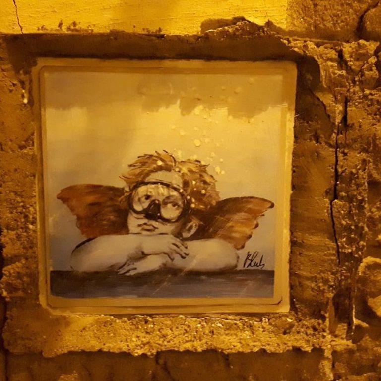 "Palma Campania ""immersa"" nelle opere d'arte di Blub"