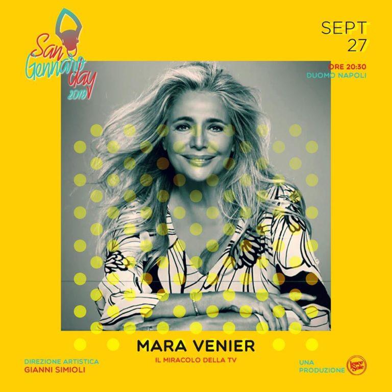 Premio S. Gennaro Day 2019: tra gli ospiti Mara Venier e Gigi Finizio