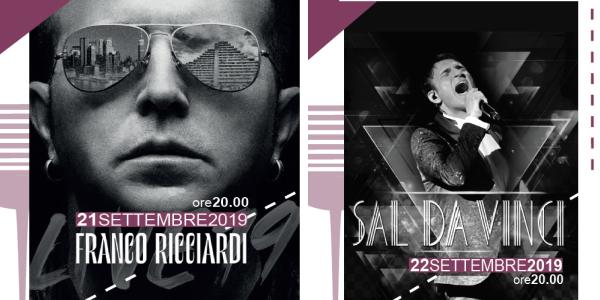 """Franco Ricciardi e Sal Da Vinci a Casalnuovo, Pelliccia: """"Grandi concerti"""""""