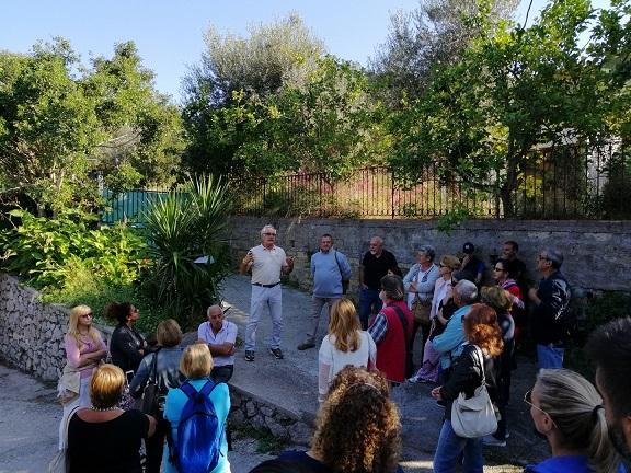 Anacapri: grande partecipazione alla Terza giornata Internazionale Camminata tra gli Olivi
