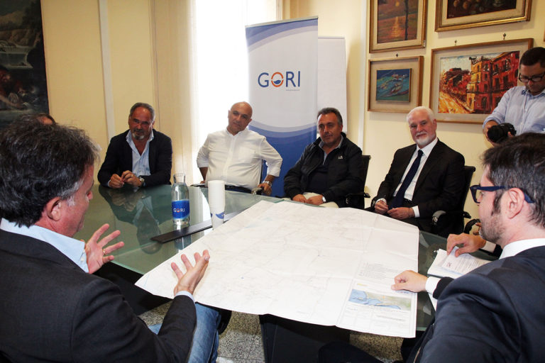 Gori a Marigliano, consegnati i lavori della rete fognaria in zona Miuli. Foto