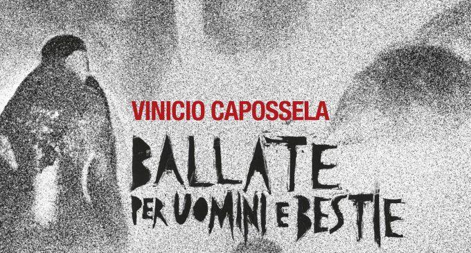 Vinicio Capossela in 'Ballate per uomini e bestie' al Teatro San Carlo di Napoli