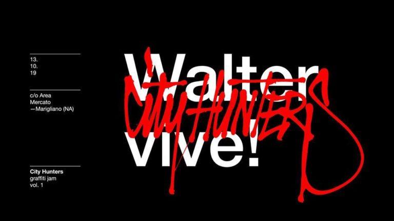 """A Marigliano la prima """"City Hunters graffiti""""in ricordo di Walter"""
