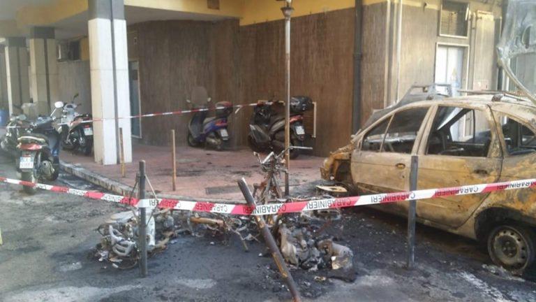 Intimidazioni al sindaco di San Giorgio, incendiato il suo motorino