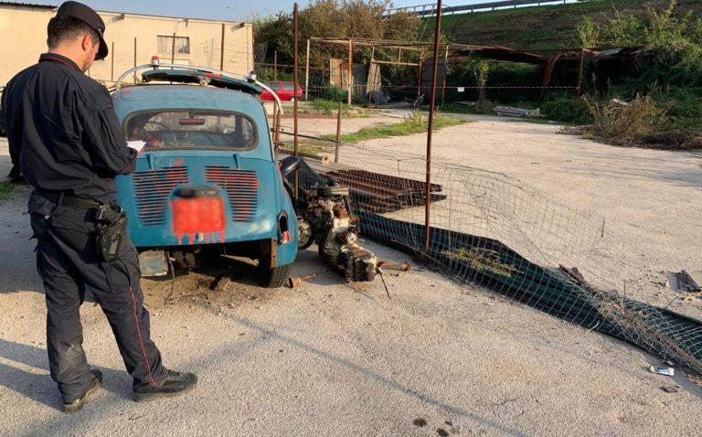 Pomigliano. Attività illecite in una carrozzeria, nei guai un 67enne