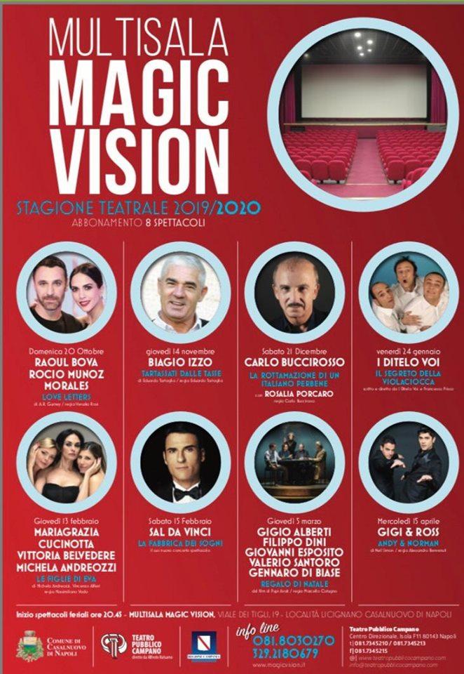 Teatro Magic Vision - Cartellone teatrale