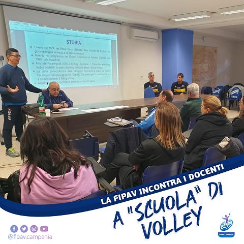 Pallavolo: la Fipav Campania entra nelle scuole coi corsi per i prof. di Educazione Fisica