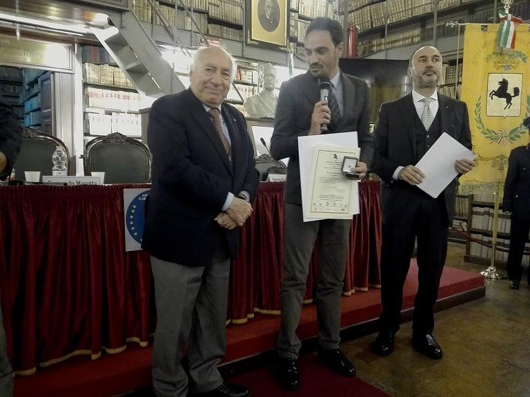 Premio Carlo La Catena, medaglia al comandante Chiariello