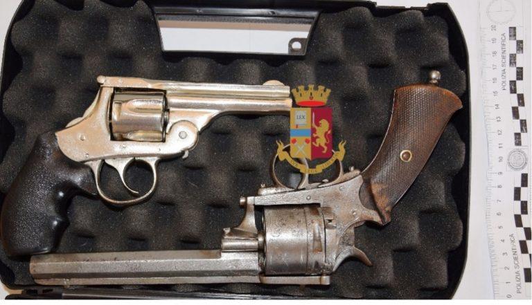 S.Giuseppe. Armi nel portabagagli, arrestati originari di Roma