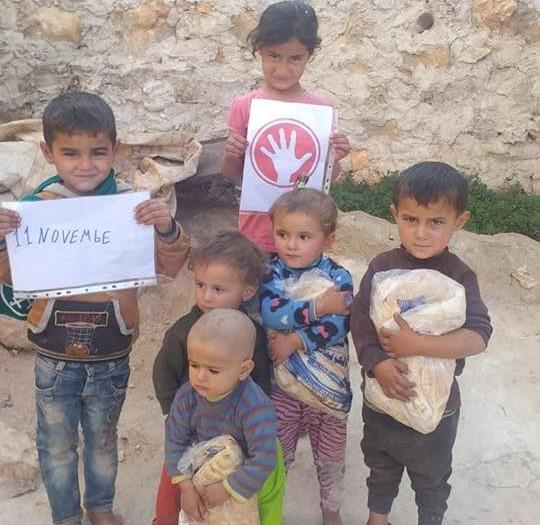 """Una speranza per i bambini siriani dall'associazione """"Diamo una mano"""""""