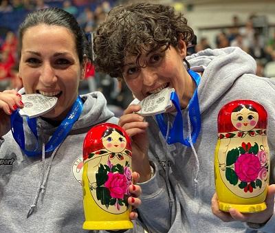 Eurocup Mosca, 2 allenatrici della Campania vice campionesse d'Europa