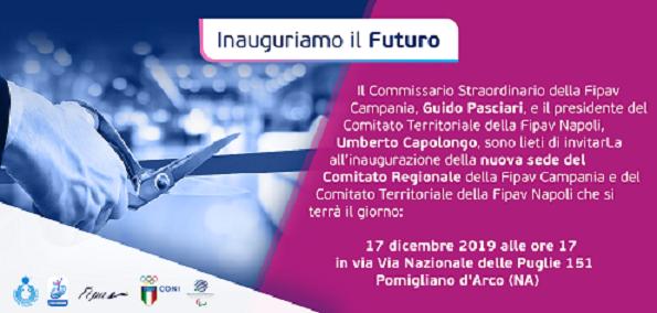 FIPAV CAMPANIA: Inaugurazione nuova sede regionale