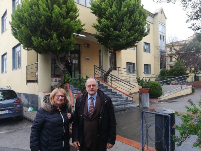 Villani in visita dal commissario Alessandro Valeri al Comune di Angri