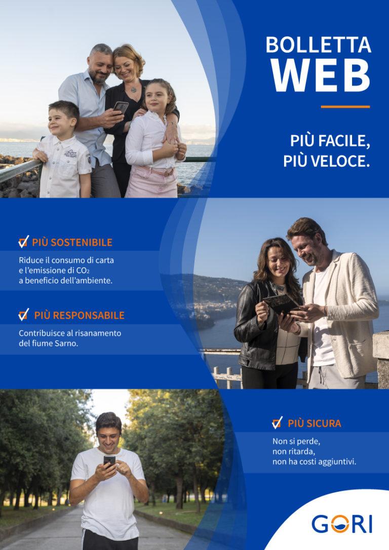 Bolletta web di Gori: facile, sicura e sostenibile