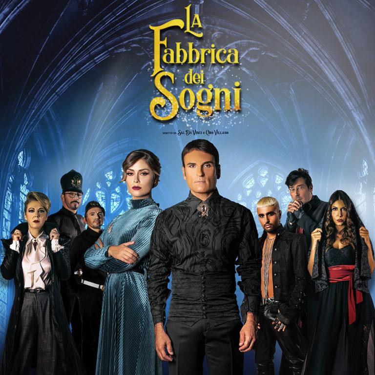 """Sal da Vinci al Teatro Augusteo con il nuovo musical """"La fabbrica dei sogni"""""""