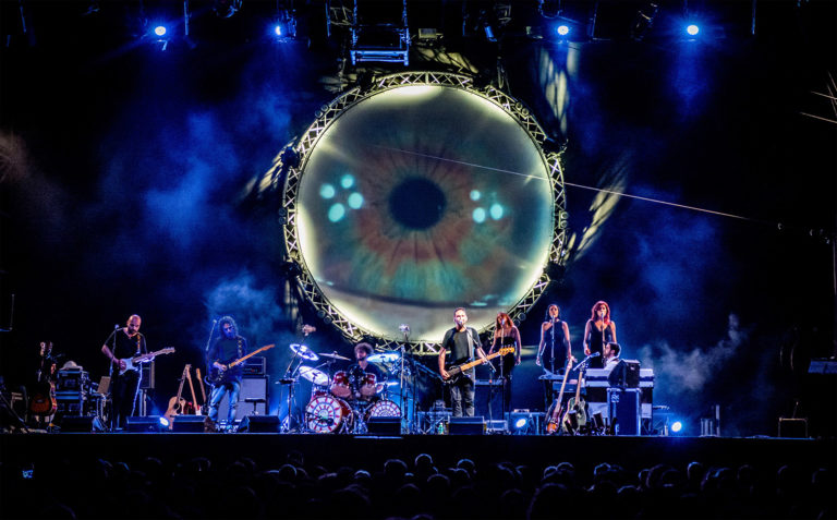 "Teatro Augusteo, Pink Floyd Legend in ""The dark side of the moon"""