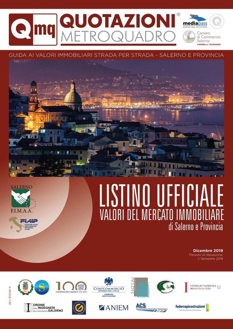 Salerno. Listino Ufficiale dei prezzi della città e provincia edito dalla Mediapass
