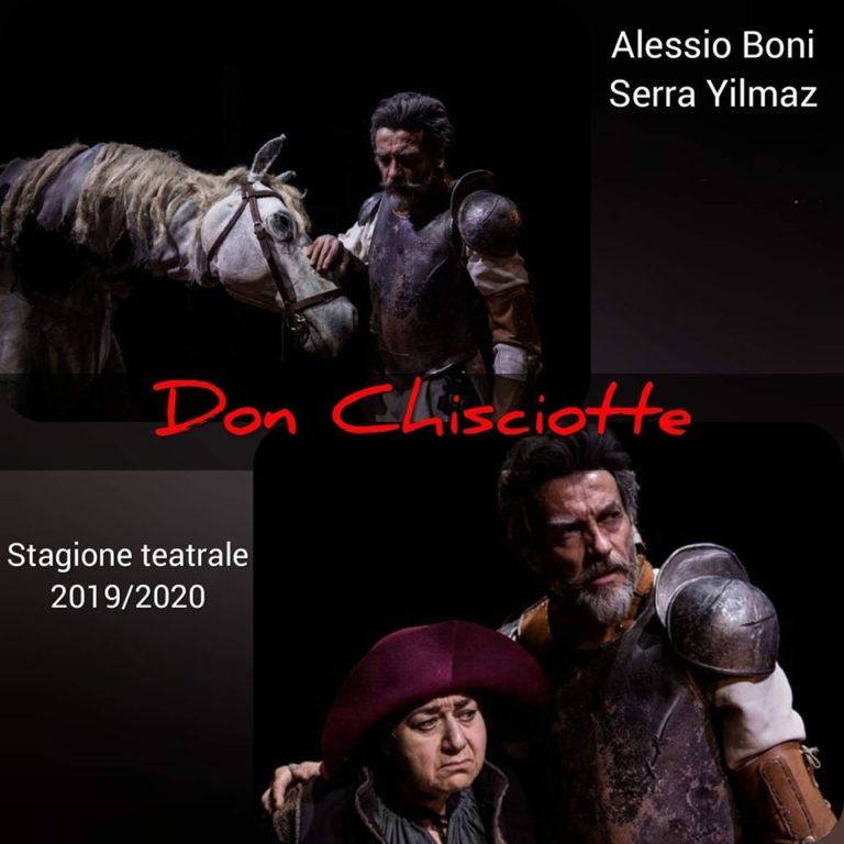 """Teatro Parravano di Caserta, Alessio Boni e Serra Yilmaz in """"Don Chisciotte"""""""
