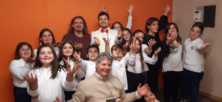 Al gran concerto del tenore Gambi anche il Piccolo Coro del Beneventano