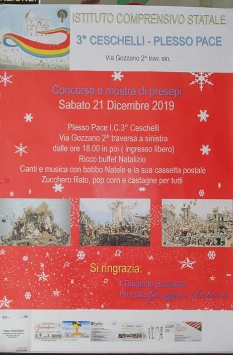 S.Giuseppe. Natale green alla scuola Ceschelli, oggi mostra di presepi