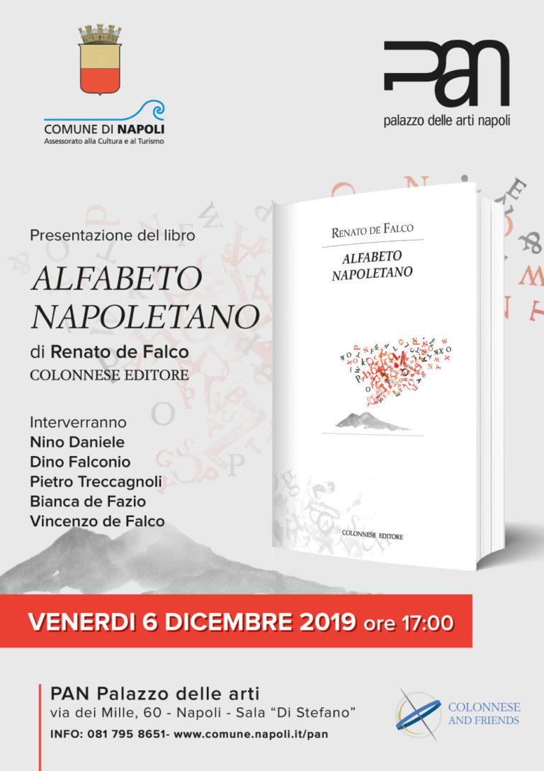 Alfabeto Napoletano, al Pan la presentazione del libro di Renato de Falco