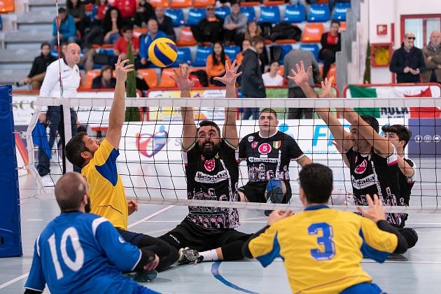 Sitting Volley, Besana Nola inserita nel gruppo B  di Champions maschile a Lukavac