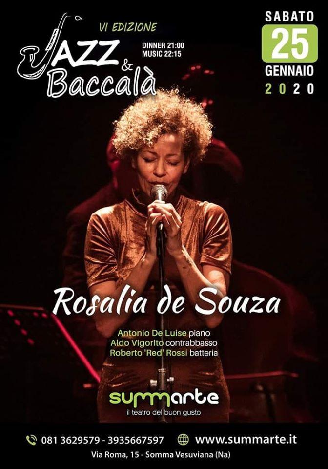 Jazz&Baccalà, al Summarte la musicista brasiliana Rosalia De Souza