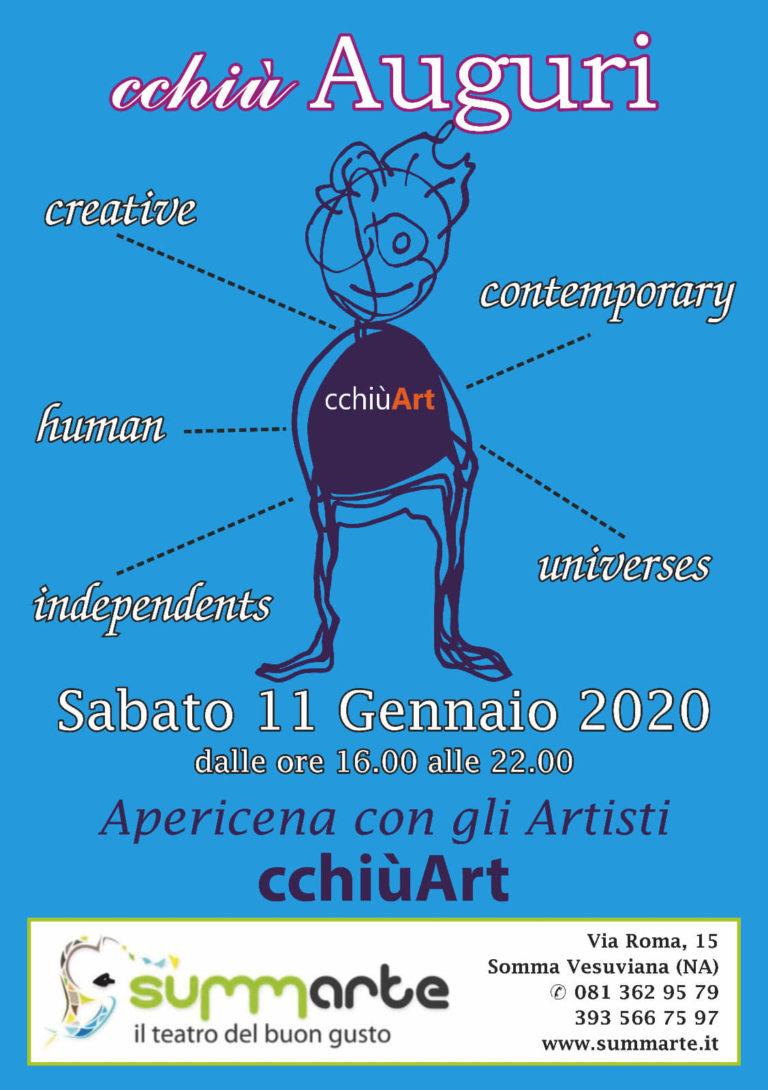 """Appuntamento al Summarte con la mostra """"Cchiu' Art """""""