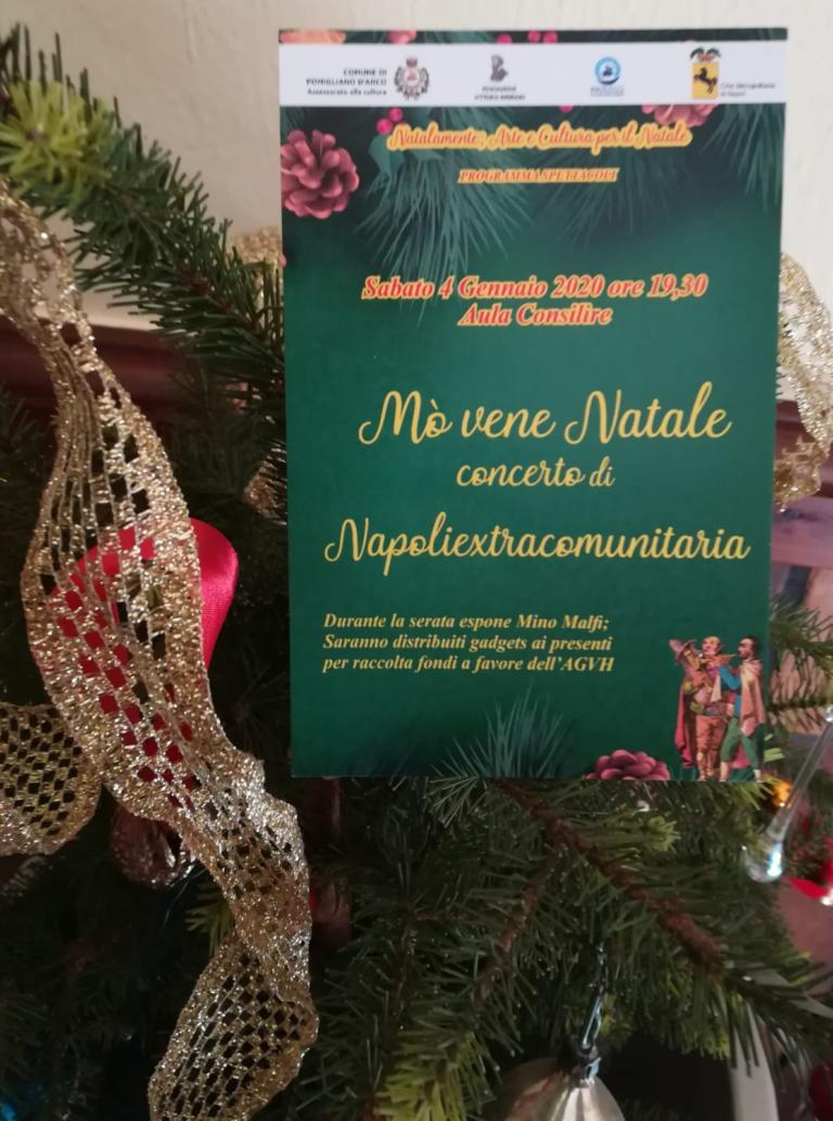 Eventi natalizi a Pomigliano, concerto con i Napoliextracomunitaria