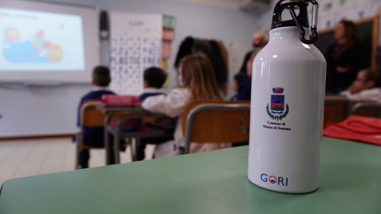Massa di Somma. Plastic free, il progetto di Gori arriva a scuola