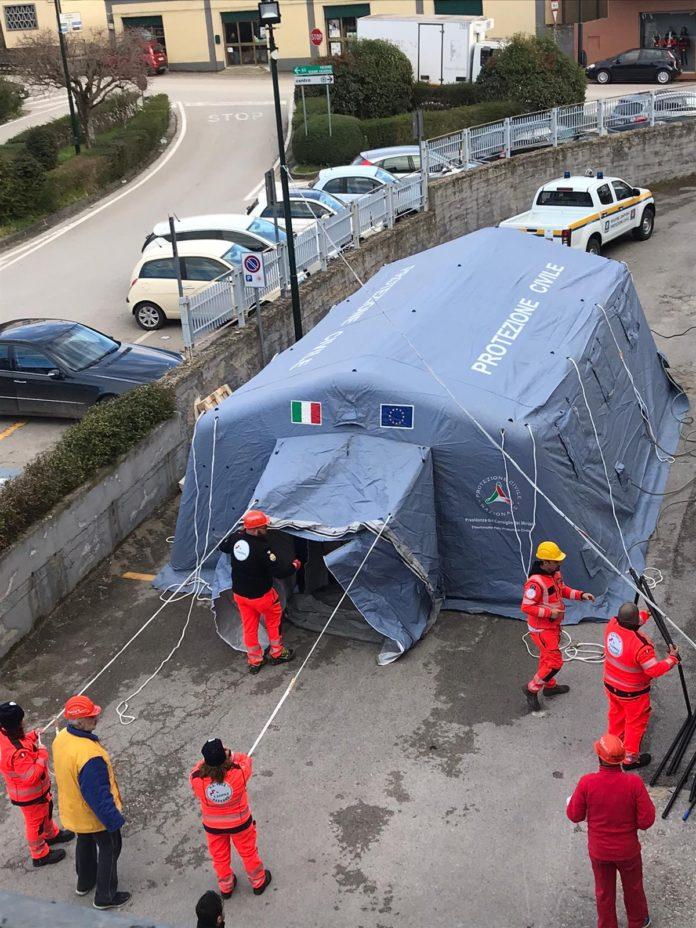 Emergenza Coronavirus, assistenza volontari Anpas Campania