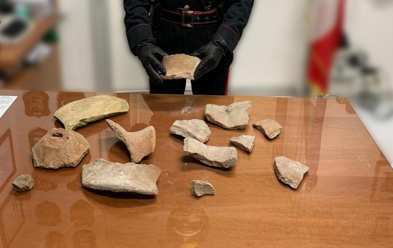 Ruba reperti agli Scavi di Pompei, giovane arrestato dai Cc
