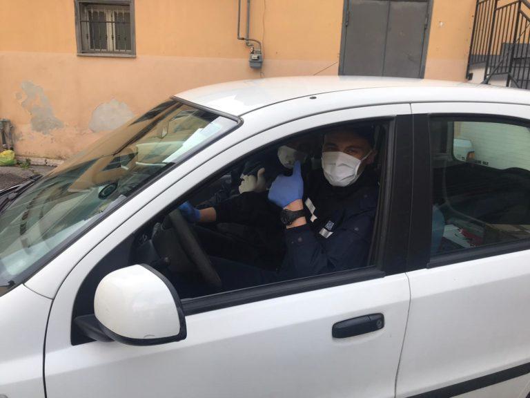 Pomigliano. Covid19, consegne a domicilio: l'aiuto degli ausiliari del traffico