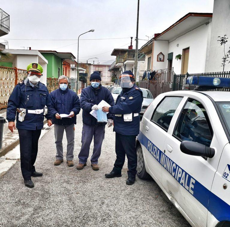 Casamarciano, emergenza covid-19: controlli e assistenza al cittadino per la polizia locale