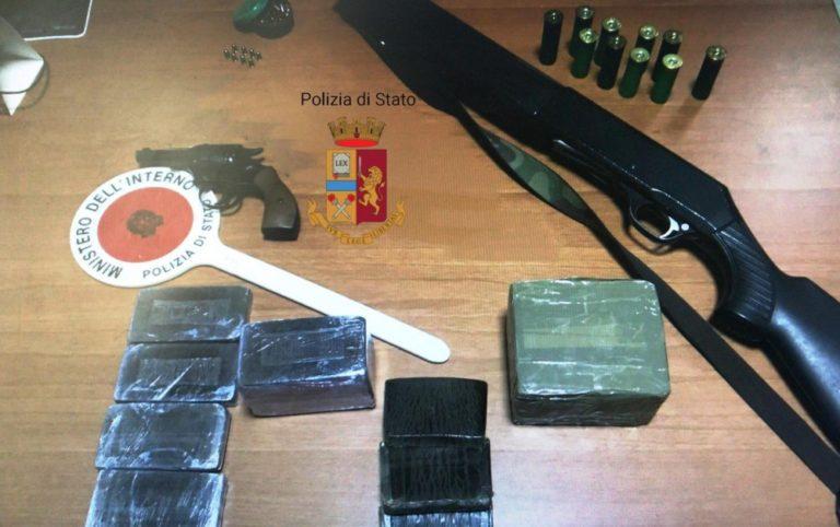 Droga e armi, due arresti a Cercola