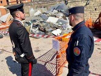 Rifiuti illegali a Pomigliano, sequestrata un'altra area dai carabinieri