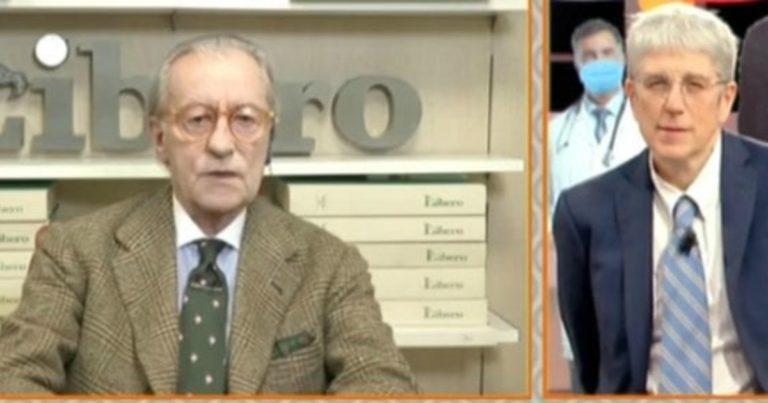 Feltri-Giordano, de Magistris li denuncia per istigazione e odio razziale