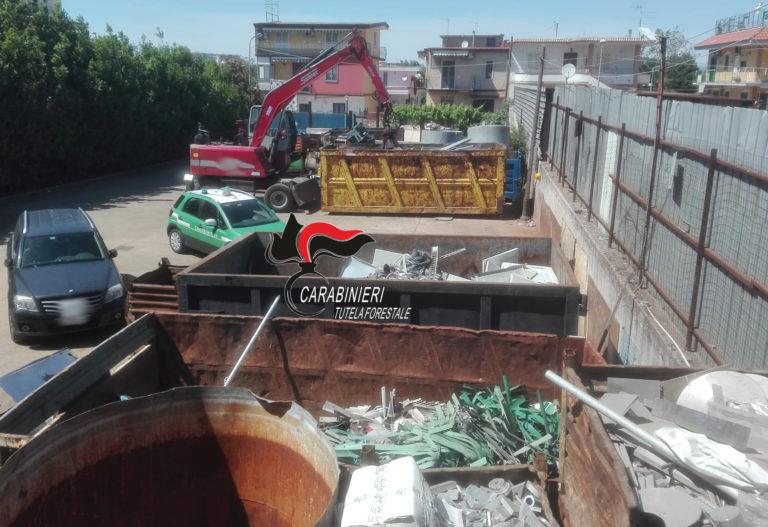Smaltimento illecito di rifiuti, 3 denunce a Pomigliano d'Arco