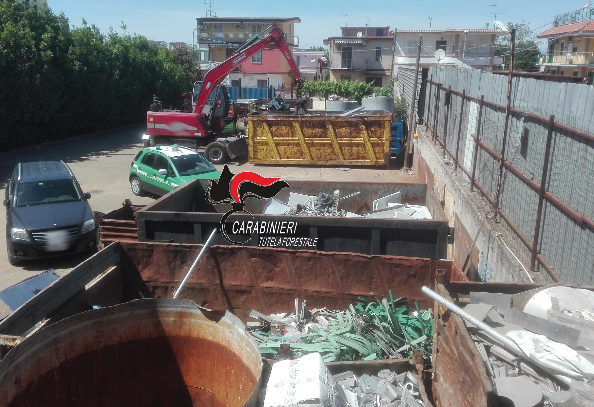 Via Romani Pomigliano D Arco smaltimento illecito di rifiuti, 3 denunce a pomigliano d'arco