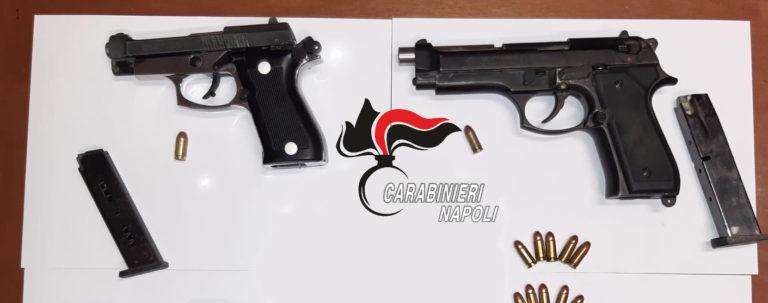 Scacciacani modificate per sparare, arrestati 20enni a Pompei
