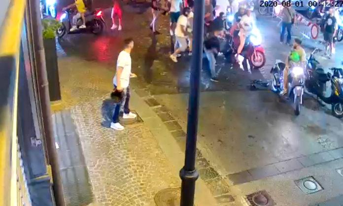 aggressione carabiniere castellammare (fonte foto web)